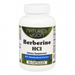 Nature's Vision Berberine HCL 400mg Extract 90 cap
