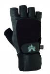 Valeo Wrist Wrap Leather Lifting Gloves