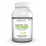 Absolute Nutrition CBD Hemp Oil Caps 30ct
