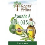 Bio Nutrition Roots & Fruits Bar Soap Avocado & Olive Oil 5oz