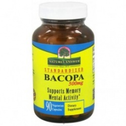 Nature's Answer Bacopa 500mg 90cp