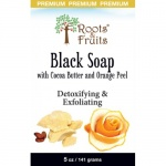 Bio Nutrition Roots & Fruits Bar Soap Black Premium 5oz