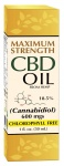 CBD Hemp Oil 600 mg 18.5% Maximum Strength 1oz