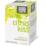 Good Earth Teas Citrus Kiss Lemongrass 18bg
