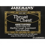 Jakemans Cough Drop Anise 24ct