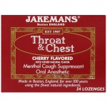 Jakemans Cough Drop Cherry Menthol 24ct