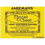 Jakemans Cough Drop Honey and Lemon 24ct
