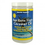Health Support Raw Extra Virgin Coconut Oil 30oz