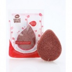 My Konjac Sponge French Red Clay Facial 1ea