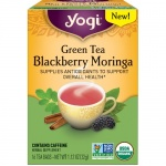 Yogi Tea Company Green Tea Blackberry Moringa 16bg
