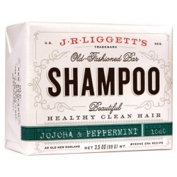J.R. Liggetts Bar Shampoo Jojoba & Peppermint 3.5oz