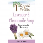Bio Nutrition Roots & Fruits Bar Soap Lavender & Chamomile 5oz