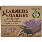 Farmers Market Bar Soap Lavender Eucalyptus 5.5oz
