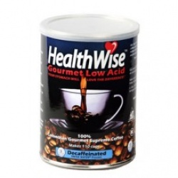 HealthWise Coffee Low Acid Colombian Decaf 12oz