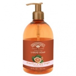 Liquid Soap Fruit Blend Grapefruit & Wild Ginger 12oz