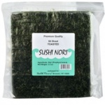 Health Flavors Nori Toasted Flat 50 Ct 3.5oz