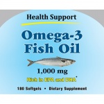 Health Support Omega-3 Fish Oil 180sg
