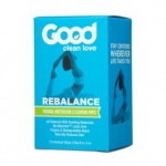 Good Clean Love Wipes Moisturizing Rebalance 12ct