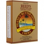 Reed's Ginger Chews Peanut Butter 2oz