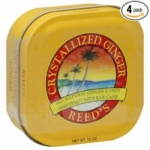 Reed's Crystallized Ginger Tin 10oz