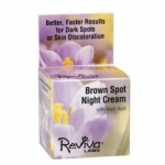 Reviva Brown Spot Night Cream with Kojic Acid 1oz