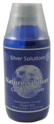 Silver Solution Natures Silver 24 Ppm 4 Oz
