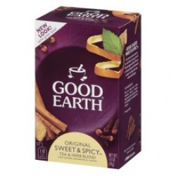 Good Earth Teas Sweet & Spicy 18bg