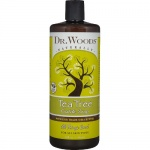 Dr. Woods Soap Tea Tree with Shea 32oz