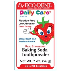Eco-Dent Toothpowder Strawberry 4 Kids 2oz