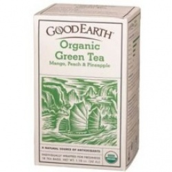 Good Earth Organic Green Tea Tropical Rush 18bg