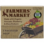 Farmers Market Bar Soap Unscented 5.5oz