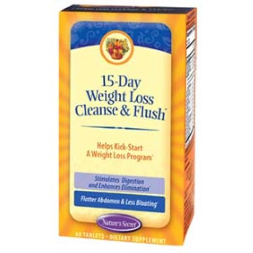 Nature's Secret 15 Day Weight Loss Cleanse & Flush 60 Tabs
