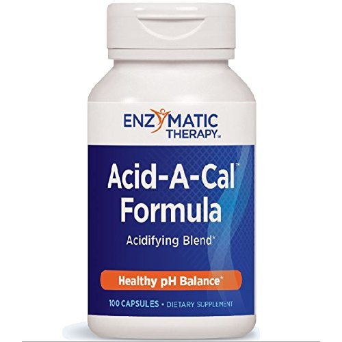 Enzymatic Therapy Acid-A-Cal Formula 100vc