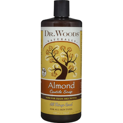 Dr. Woods Soap Almond with Shea Butter 32oz