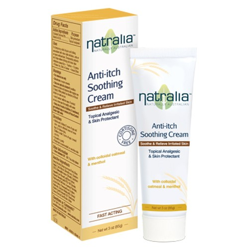 Natralia Anti Itch Soothing Cream 3oz