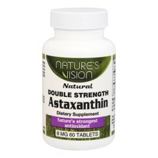 Nature's Vision Astaxanthin 8mg 60 tab