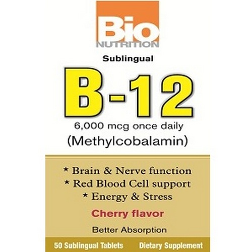 Bio Nutrition B12 Sublingual Tablets