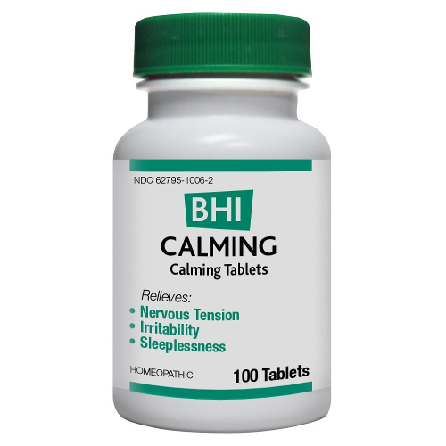 Medinatura BHI Calming Tablets 100ct