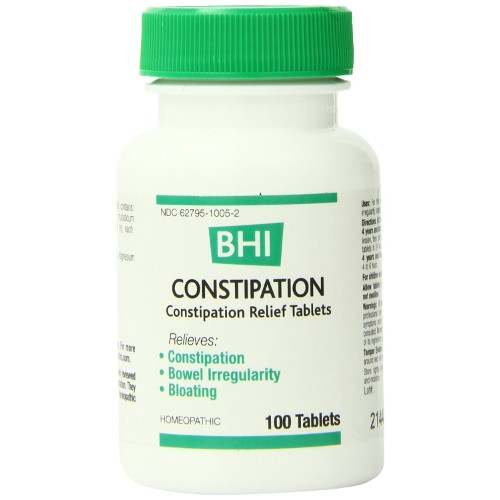 Medinatura BHI Constipation Tablets 100ct