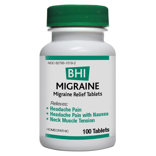 Medinatura BHI Migraine Tablets 100ct