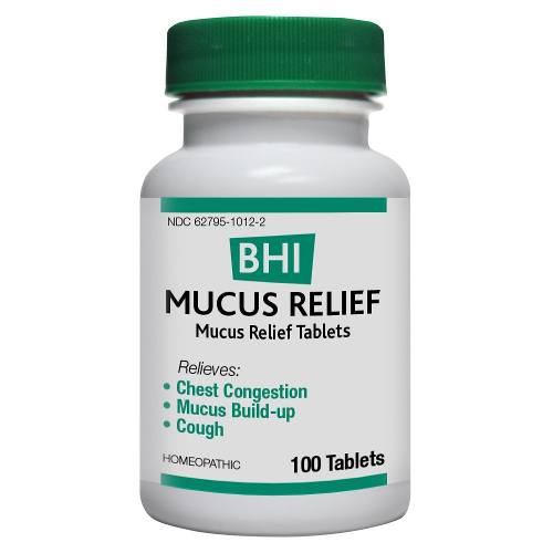 Medinatura BHI Mucus Relief Tablets 100ct