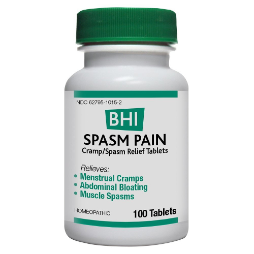 Medinatura BHI Spasm Pain Tablets 100ct