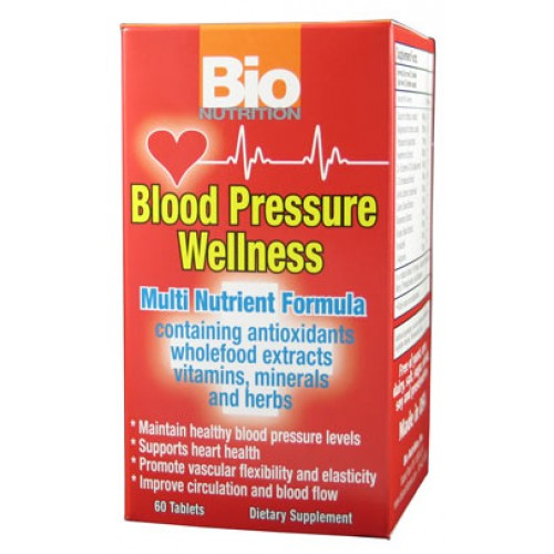Bio Nutrition Blood Pressure Wellness 60tb