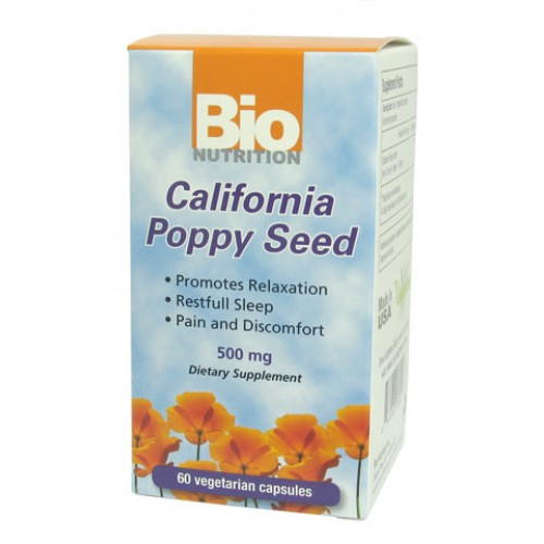 Bio Nutrition California Poppy Extract 60vc