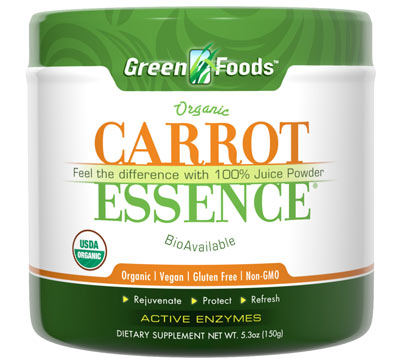 Green Foods Essence Carrot 5.3oz
