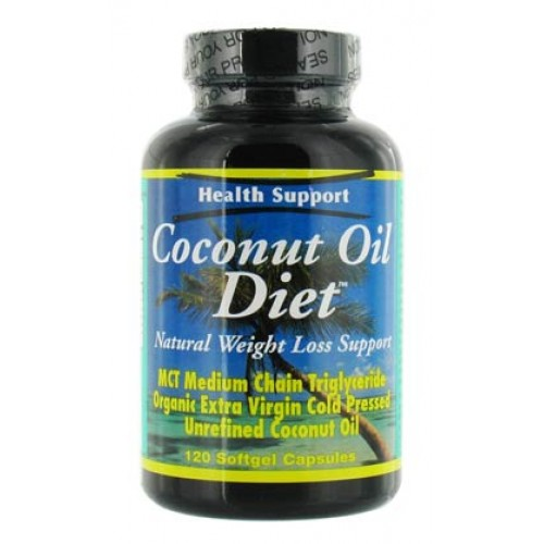 Health Support Coconut Oil Diet 120 Sftgels