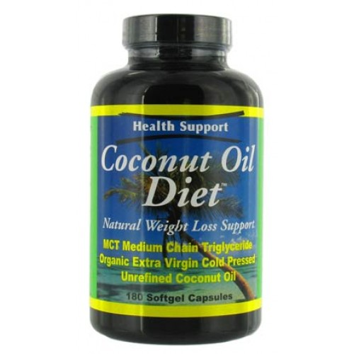Health Support Coconut Oil Diet 180sg
