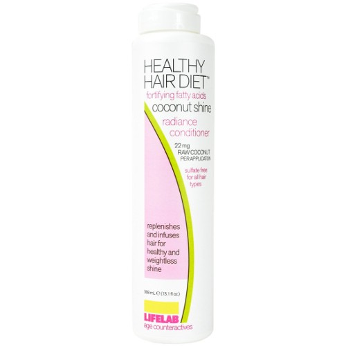 Lifelab Coconut Shine Conditioner Healthy Hair 13.1oz