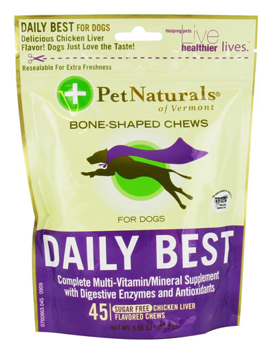 Pet Naturals Daily Best For Dogs 45ct