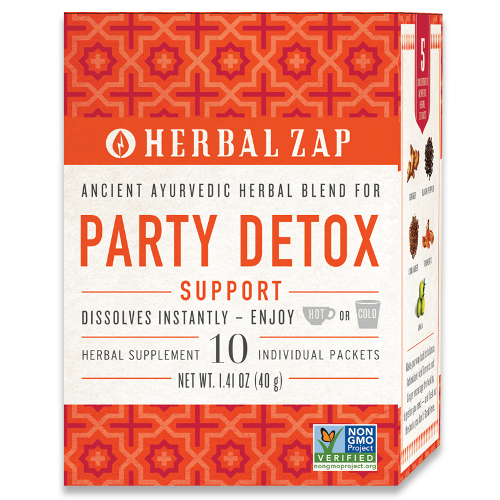 Herbal Zap Party Detox Support 10pk